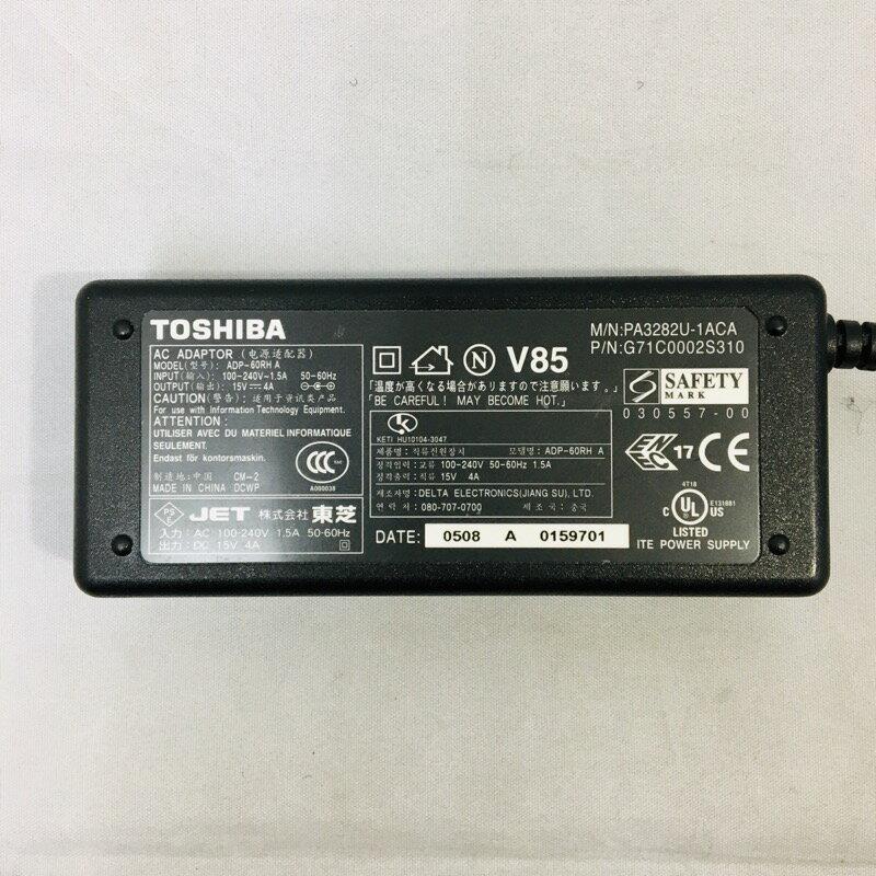 【中古】[ Toshiba ] ACアダプタ / 15V / 4A / 電源 adapter /