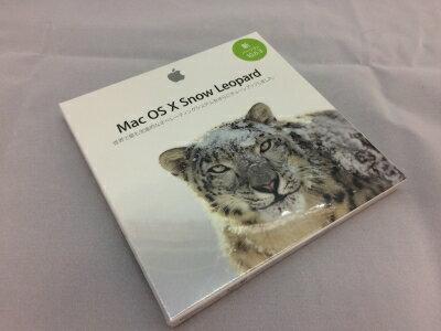 【中古】[ Apple ] Mac OSX 10.6 / Snow Leopard / ver.10.6.3 / 日本語版 OS インストール DVD / パッケージ未開封