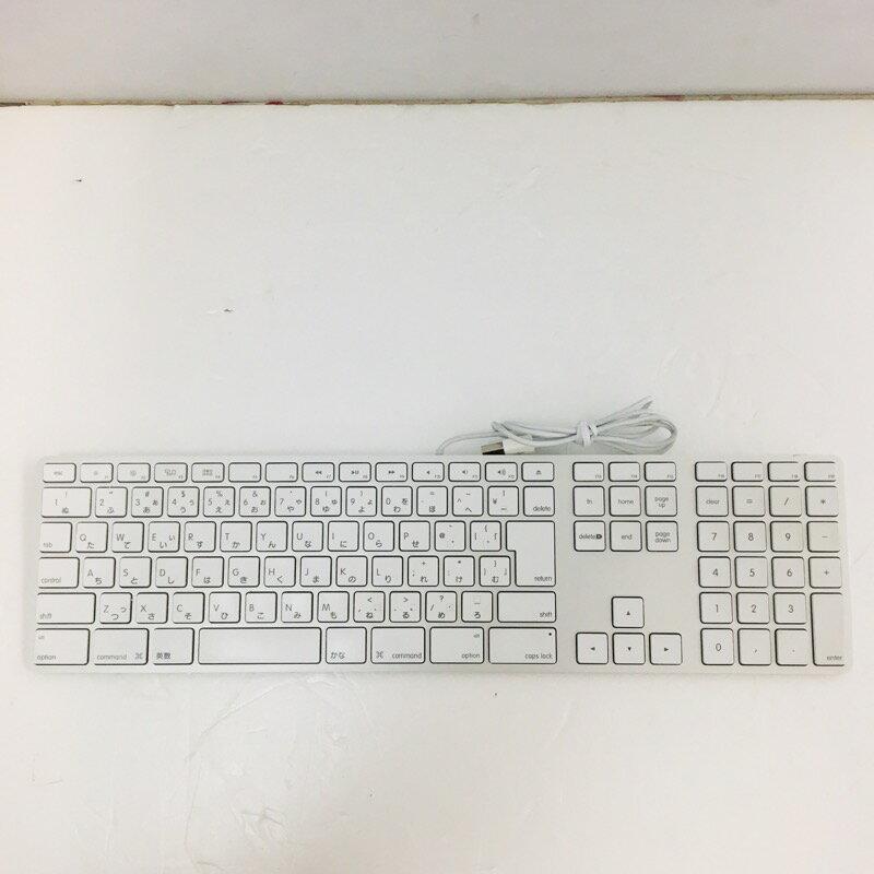 【中古】[ Apple ] Apple Keyboard(JIS) / A1243 中古品 A1243