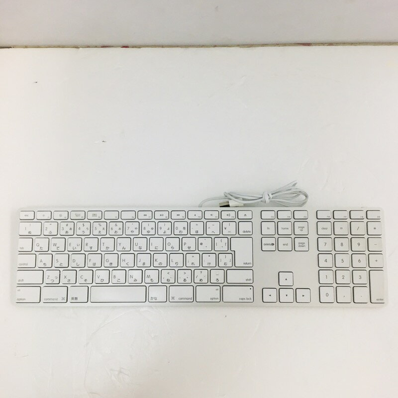 【中古】[ Apple ] 中古美品!! Apple Keyboard(JIS) / A1243 A1243