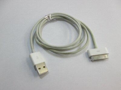 【中古】[ Apple ] Apple純正 30ピン - USBケーブル / Dock-USBケーブル / 1m 中古品 色焼けあり