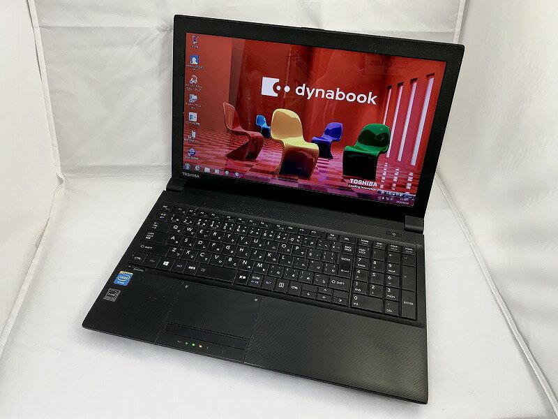 【中古】[ Toshiba ] DynaBook Satellite B453/J / Celeron 1005M 1.9GHz / 15.6インチ
