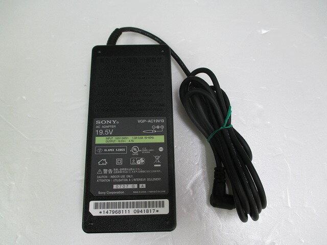 【中古】[ SONY ] ACアダプタ / 19.5V / 4.7A / VGP-AC19V13 / 中ピン / 電源 adapter /