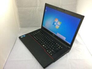 【中古】[Fujitsu]LifeBookA553/G/CeleronB7301.8GHz/2GB/320GB/Windows7Pro32bit