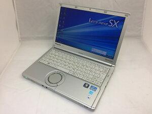 【中古】[Panasonic]Let'sNoteCF-SX1GE4DS/Corei5-2540M2.6GHz/Windows7Professional64bitACアラートありCF-SX1GE4DS
