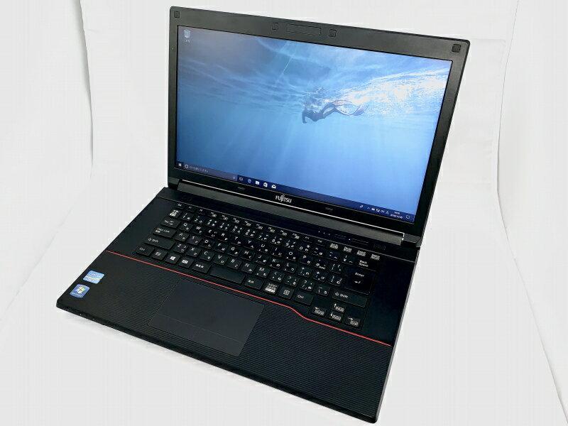 【中古】[ Fujitsu ] LifeBook A573_G / Core i5-3340M 2.7GHz / 4GB / 320GB / Windows 10 Pro 64bit