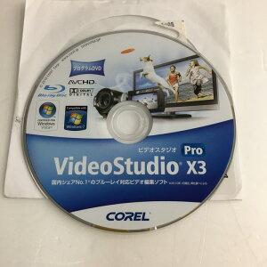 【中古】[コーレル]VideoStudioproX3Education/インストールROM&ライセンスのみ/Win版/ビデオ編集ディスクオーサリングソフト