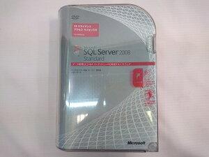 【中古】[Microsoftマイクロソフト]MicrosoftSQLServer2008Standard10クライアントライセンス付未開封品