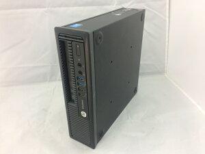 【中古】[hp]EliteDesk800G1USDT/Corei5-4590S3.0GHz/フロントパネルツメ折れ有