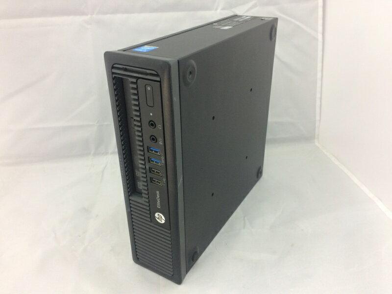 【中古】[ hp ] EliteDesk 800 G1 USDT / Core i5-4590S 3.0GHz / フロントパネルツメ折れ有