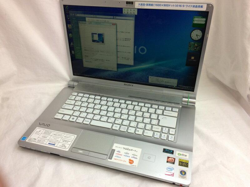 【中古】[ SONY ] VGN-FW30B / Core 2 Duo P8400 2.26GHz / 2GB / 320GB / Windows Vista Home Premium VGN-FW30B