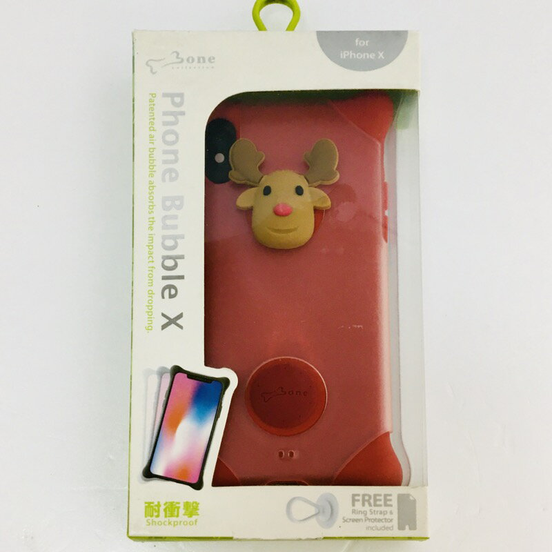 【中古】[ AREA ] area iPhone X ケース / Phone Bubble X PH17101-DEE