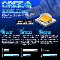 LEDヘッドライトヘッドランプLEDバルブCREE社フォグランプH1H3H4Hi/LoH7H8H11HB4【レビュー記入で送料無料】