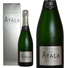 シャンパン アヤラ ブリュット・ナチュール 750ml 箱入り 正規 (フランス シャンパーニュ 白)