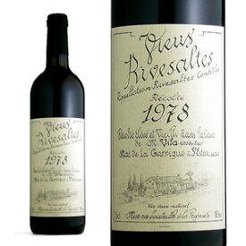 リヴザルト 1978年 ドメーヌ・サント・ジャクリーヌ 750ml フランス 赤ワイン