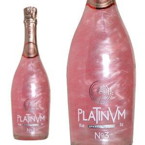 プラチナム フレグランス ローズ&オレンジ No.3 NV タヴァサ社 750ml (スペイン ラメ入りスパークリングワイン)