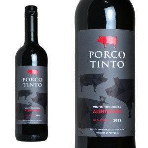 ポルコ・ティント 2014年 ソグラペ社 750ml (ポルトガル 赤ワイン)