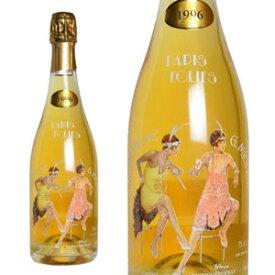 シャンパン ギィ・ミッシェル ブリュット パリ・フォリ ミレジム 1996年 750ml (フランス シャンパーニュ 白 箱なし)