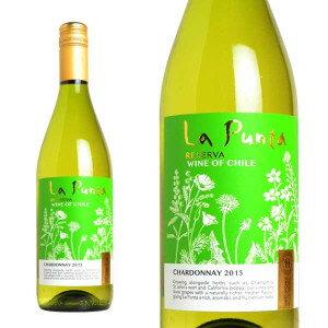 サンタ・ヘレナ ラ・プンタ レセルヴァ シャルドネ 2015年 750ml (チリ 白ワイン)