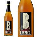 ベイカーズ 7年 ケンタッキー ストレート バーボン ウイスキー 53.5% 750ml 正規