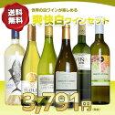 ワインセットコスパ抜群!世界の味が味わえる白ワイン6本セット(送料無料)