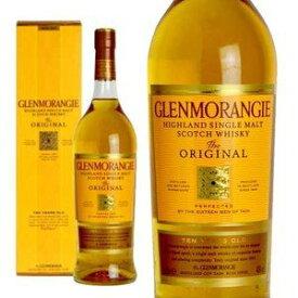 【箱入・ビッグサイズ】グレンモーレンジ・[10]年・1000ml・オリジナル・ハイランド・シングル・モルト・スコッチ・ウイスキー・40度・箱入り