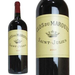 大型ボトル クロ デュ マルキ 2007年 公式格付第二級 シャトー レオヴィル・ラスカーズ セカンドラベル 1500ml 赤ワイン