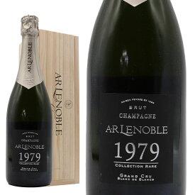 A.R.ルノーブル グラン クリュ コレクション レア ヴィンテージ 1979年 豪華木箱入り フランス シャンパン