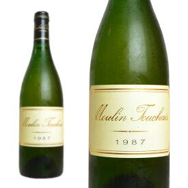 コトー・デュ・レイヨン ムーラン・トゥーシェ 1987年 ドメーヌ・トゥーシェ 750ml (フランス ロワール 白ワイン)