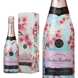 シャンパン ニコラ・フィアット ファースト・ブルーム・オブ・サクラ ギフトボックス入り 750ml