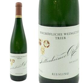 トリッテンハイマー アポテーケ アウスレーゼ 1991年 ビショフリッヒェ ヴァインギューター トリアー元詰 ドイツ 白ワイン