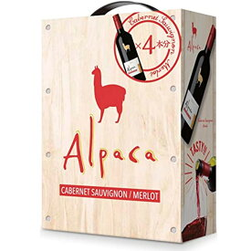 【大容量3L】サンタ ヘレナ アルパカ カベルネ メルロー 2020年 赤ワイン 3,000ml バッグ イン ボックス(ボックスワイン)