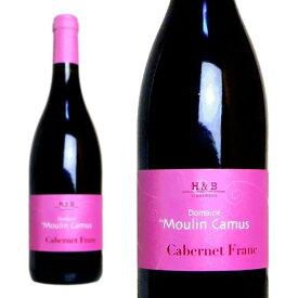 カベルネ・フラン・ド・ロワール 2017年 ドメーヌ・デュ・ムーラン・カミュ 750ml (フランス ロワール 赤ワイン)