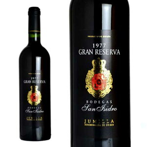 ボデガス・サン・イシドロ グラン・レセルバ 1977年 750ml (スペイン 赤ワイン)
