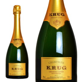 クリュッグ グランド・キュヴェ ブリュット (エディション166 or167) 正規 750ml (シャンパン 白 箱なし)