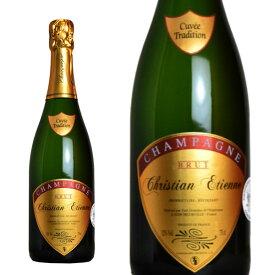 シャンパン クリスチャン・エティエンヌ ブリュット トラディション 750ml (フランス シャンパーニュ 白 箱なし)