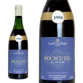 ブルグイユ 1980年 カーヴ・デュアール(ダニエル・ガテ) 750ml (フランス ロワール 赤ワイン)