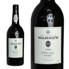 ワレズ ヴィンテージ・ポート 1980年 750ml 正規 (ポルトガル ポートワイン)