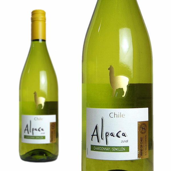 サンタ・ヘレナ アルパカ シャルドネ・セミヨン 2018年 (白ワイン・チリ)