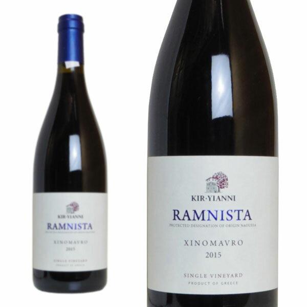キリ・ヤーニ ラミニスタ 2015年 750ml (ギリシャ 赤ワイン)