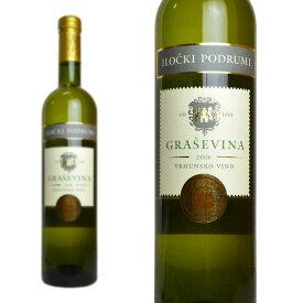 グラシェヴィーナ・プレミアム 2017年 イロチュキ・ポドゥルミ 750ml (クロアチア 白ワイン)