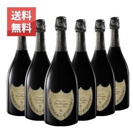 【送料無料】ドン ペリニヨン 2008年 750ml 6本セット 正規 (フランス シャンパン 白 箱なし)