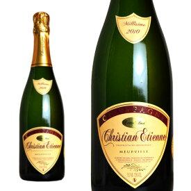シャンパン クリスチャン・エティエンヌ ミレジム 2010年 エクストラブリュット 750ml (フランス シャンパーニュ 白 箱なし)