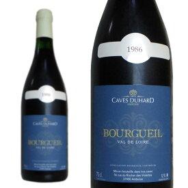 ブルグイユ 1986年 カーヴ・デュアール(ダニエル・ガテ) 750ml (フランスロワール 赤ワイン)