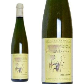 アルザス リースリング グラン・クリュ 特級 ランゲン 1997年 シャトー・ドルシュヴィール 750ml (フランス アルザス 白ワイン)