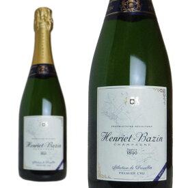 シャンパン アンリエ・バザン プルミエ・クリュ レクション・ド・パルセール ブリュット 750ml (フランス シャンパーニュ 白 箱なし)