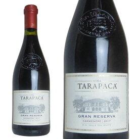 タラパカ グラン・レゼルバ カルメネール 2017年 750ml (チリ 赤ワイン)