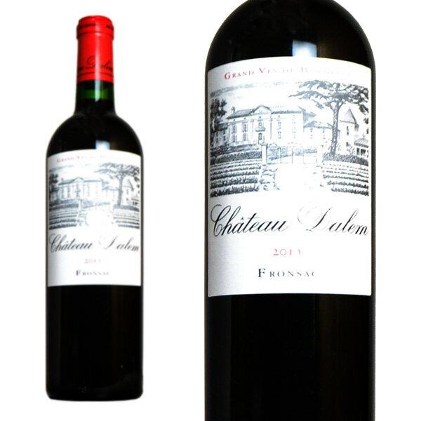 シャトー・ダレム 2013年 750ml (フランス ボルドー フロンサック 赤ワイン)