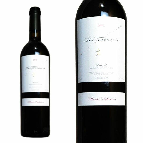 レス・テッラセス VV 2012年 アルバロ・パラシオス 750ml (スペイン 赤ワイン)