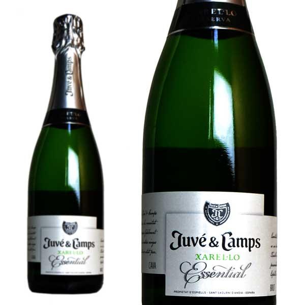 ジュヴェ・カンプス エッセンシャル カヴァ レセルバ ブリュット 正規 750ml (スペイン スパークリングワイン 白 箱なし)